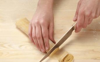 Домашняя паста Итальянская кухня