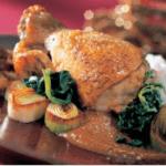 Цыпленок с моамбе Африканская кухня