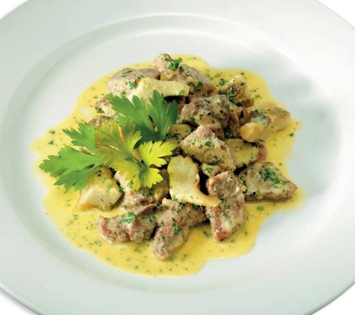 Баранина тушенная с овощами Итальянская кухня