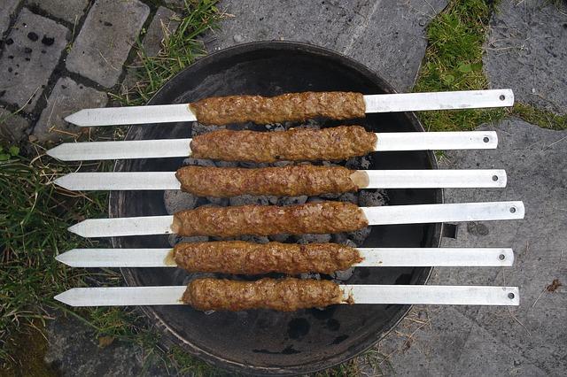 Кийма кабоб Вторые блюда Шашлыки