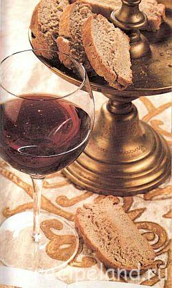 Лаймовые бискотти с ромом Выпечка Печенье