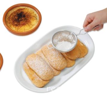 Каталонский крем Испанская кухня