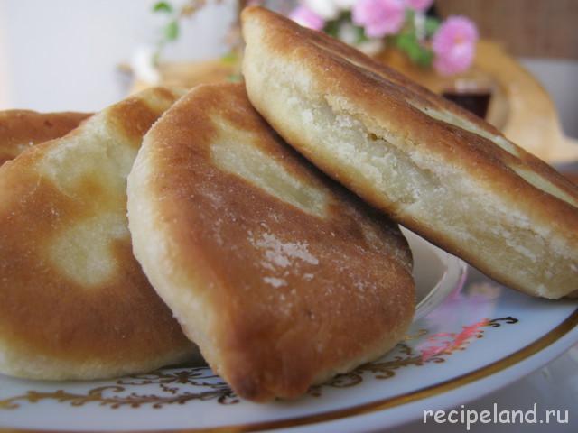 Пирожки с яйцами Пирожки