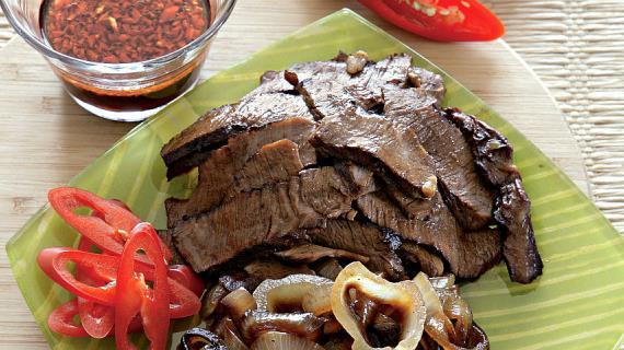 Кебаб «терияки» из говядины Блюда из мяса