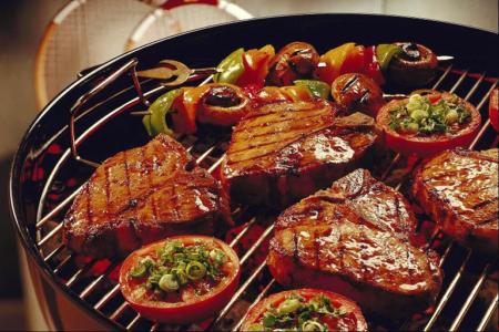 Барбекю из говядины Блюда из мяса