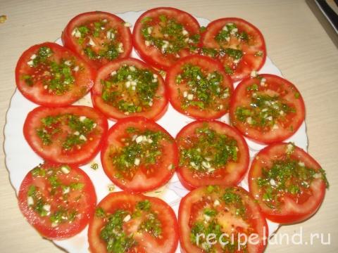 Ароматные помидоры Украинская кухня