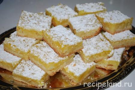 Пирожное лимонное Пирожные
