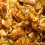 Аджем-плов Крупяные блюда Турецкая кухня