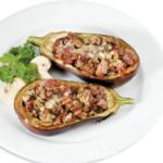 Баклажаны с мясом и грибами Испанская кухня