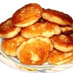Куймаи (оладьи) Казахская кухня