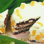 Ананасовый торт «Очарование» Выпечка Торты