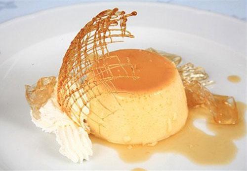 Апельсиновый пудинг с соусом Десерты