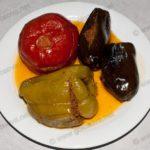 Бадымджан долмасы (баклажаны фаршированные) Азербайджанская кухня