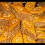 Бакинская пахлава Азербайджанская кухня