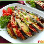 Баклажаны, фаршированные сыром Армянская кухня