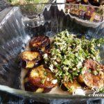 Баклажаны с ореховой подливкой Армянская кухня