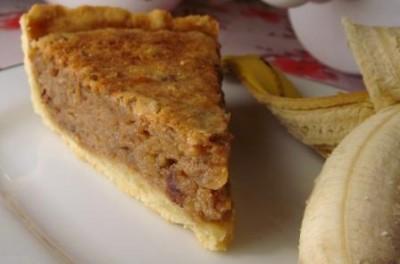 Банановый торт с грецкими орехами Выпечка Торты