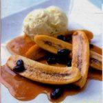 Бананы с ликером Десерты Фруктовые десерты