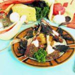 Бараньи отбивные на ребрышках с запеченным картофелем Блюда из мяса Вторые блюда