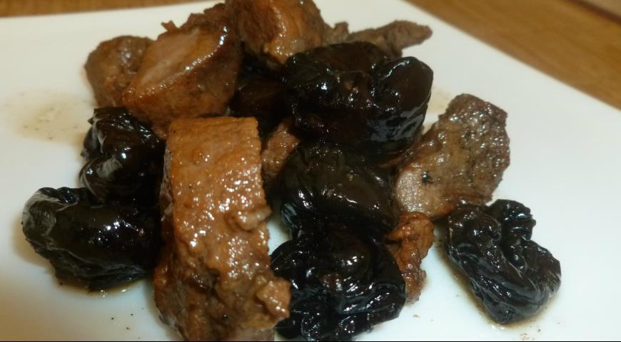 Баранина в чайном соусе Блюда из мяса Вторые блюда