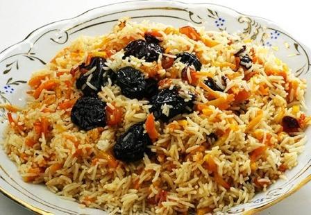 Батта по-киргизски Вторые блюда Пловы