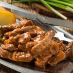 Бефстроганов Блюда из мяса Вторые блюда