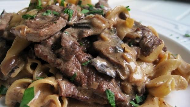 Бефстроганов из говядины Блюда из мяса Вторые блюда