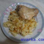 Белке (макаронные изделия с бульоном и сметаной) Вторые блюда Туркменская кухня