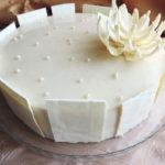 Белый шоколадный торт Выпечка Торты