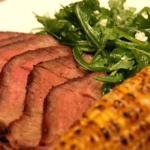 Бифштекс с кукурузой Французская кухня