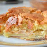 Бисквит «Яблочный» Выпечка Торты