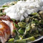 Борани из цыплят с сухофруктами Армянская кухня