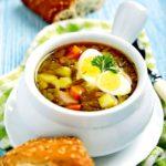 Борш ку урзыке (постный борщ с крапивой и щавелем) Молдавская кухня Супы