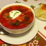 Борщ с пампушками по-украински Из картошки