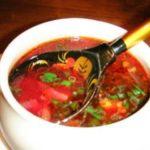 Борщ с репой Белорусская кухня