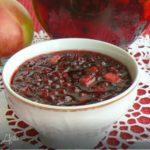 Брусничная приправа с яблоками Заготовки, консервирование