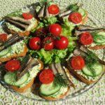 Бутерброды Закуски