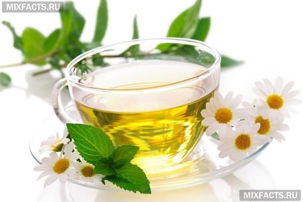 Чай с ромашкой и мятой Напитки