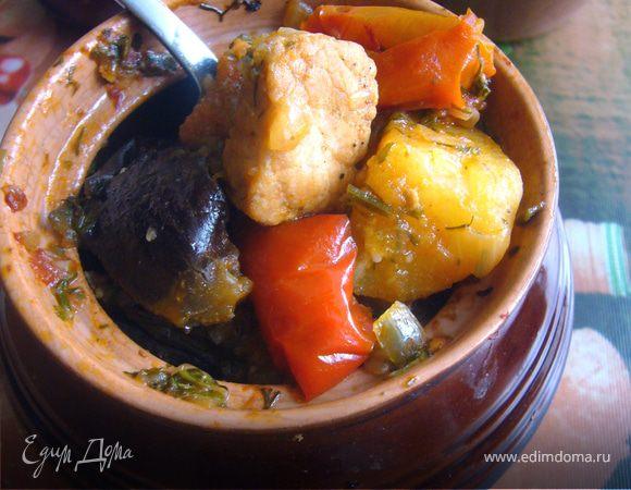 Чанахи (запеченное мясо с овощами)