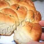 Чесночные булочки со шкварками Украинская кухня