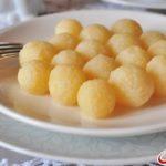 Чир (клецки из кукурузной муки) Украинская кухня
