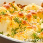 Цветная капуста с сыром Из капусты Из овощей