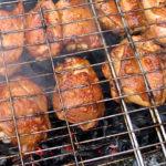 Цыпленок на решетке по-американски Американская кухня