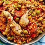 Цыпленок с рисом (Южная Африка) Африканская кухня
