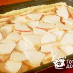 Дяд (пирог со сладкой начинкой) Белорусская кухня