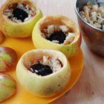 Фаршированное яблоко Десерты