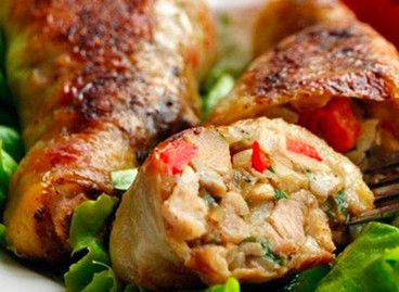 Фаршированные куриные ножки Белорусская кухня
