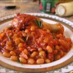 Фасоль в соусе Овощные блюда Турецкая кухня