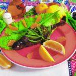 Форель, фаршированная черносливом и мандаринами Блюда из рыбы Вторые блюда