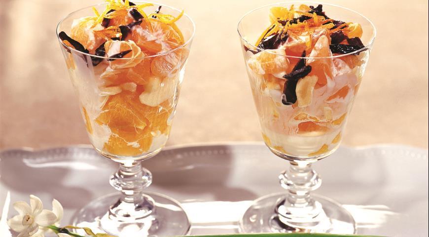 Фруктовый салат-коктейль Десерты Фруктовые десерты
